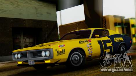 Dodge Charger Super Bee 426 Hemi (WS23) 1971 IVF for GTA San Andreas bottom view