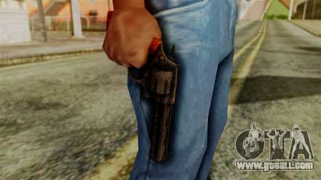 Colt Revolver from Silent Hill Downpour v2 for GTA San Andreas third screenshot