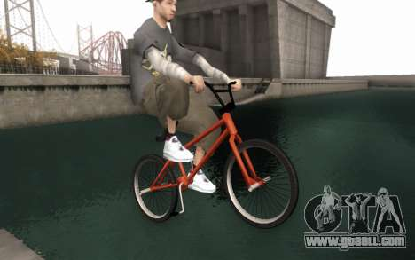 BMX HD for GTA San Andreas right view