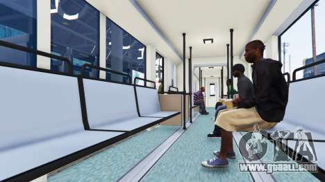 GTA 5 New textures trams third screenshot