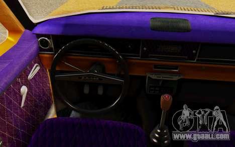 GAZ 24 Volga for GTA San Andreas back left view