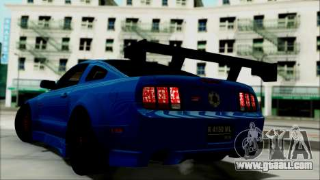 Ford Mustang GT Modification for GTA San Andreas left view