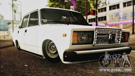 VAZ 2107 E-Design for GTA San Andreas