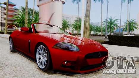 Jaguar XKR-S 2011 Cabrio for GTA San Andreas