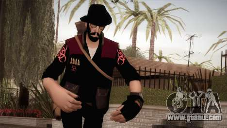 Christian Brutal Sniper from TF2 for GTA San Andreas