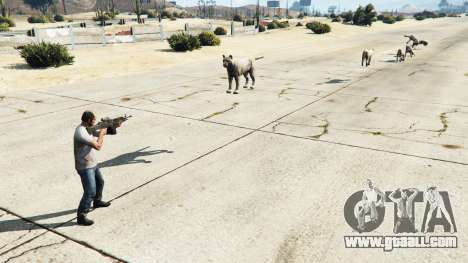 Animal Cannon v1.1 for GTA 5