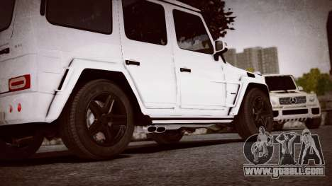 Mercedes-Benz G65 W463 for GTA 4 right view