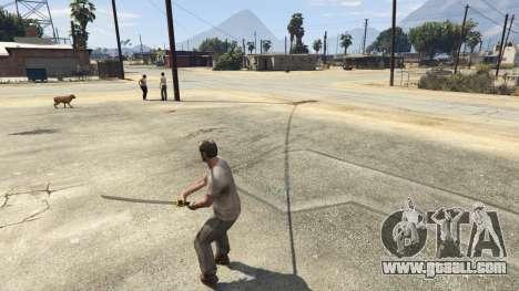 GTA 5 Katana v2.0 fourth screenshot