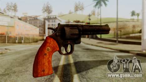 Colt Revolver from Silent Hill Downpour v2 for GTA San Andreas second screenshot