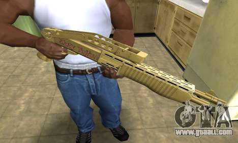 Zloty Tajfun Combat Shotgun for GTA San Andreas
