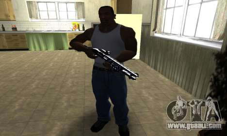 Oval Shotgun for GTA San Andreas third screenshot
