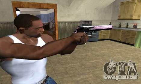 Purple Deagle for GTA San Andreas second screenshot
