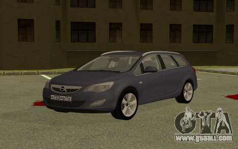 Opel Astra for GTA San Andreas