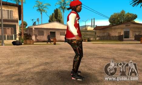 Army Girl for GTA San Andreas second screenshot