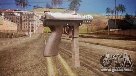 TEC-9 v1 from Battlefield Hardline for GTA San Andreas second screenshot