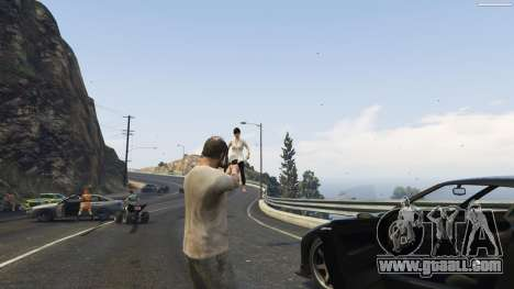 GTA 5 Gravity Gun 1.5 fifth screenshot