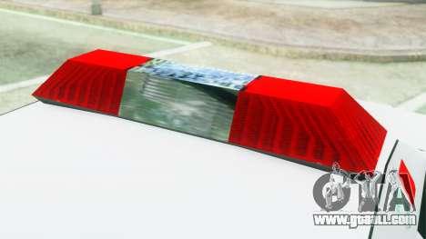 Premier Ambulance for GTA San Andreas back view