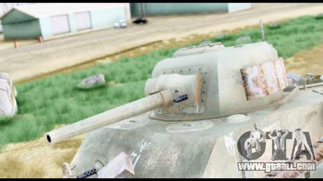 M4 Sherman 75mm Gun Urban for GTA San Andreas right view