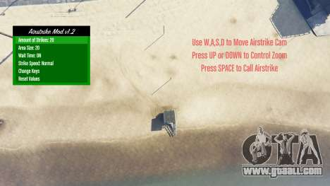 Airstrike v1.2 for GTA 5