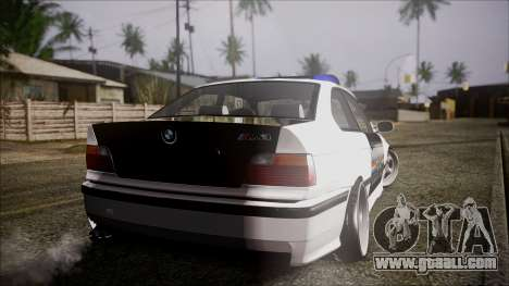 BMW M3 E36 Police for GTA San Andreas left view
