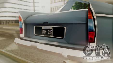 Peugeot 404 for GTA San Andreas back view