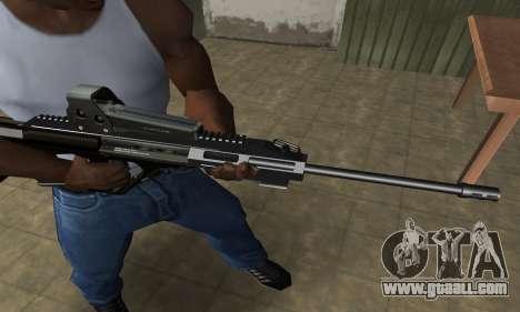 Brown AUG for GTA San Andreas second screenshot