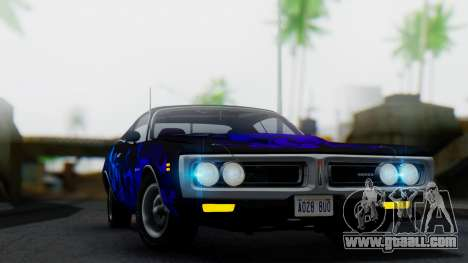 Dodge Charger Super Bee 426 Hemi (WS23) 1971 IVF for GTA San Andreas upper view