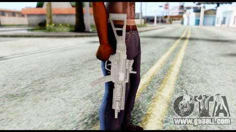 MP5 from Resident Evil 6 for GTA San Andreas third screenshot