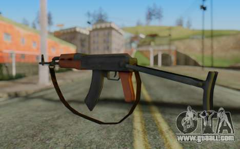 AK-47S with Strap for GTA San Andreas second screenshot