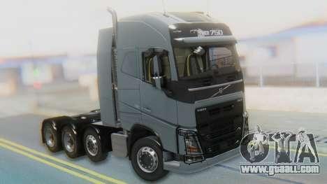Volvo FH Euro 6 Heavy 8x4 for GTA San Andreas