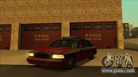 FDSA Premier Cruiser for GTA San Andreas back left view
