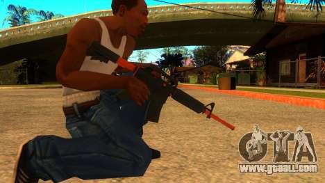 M4A1 Nitro for GTA San Andreas