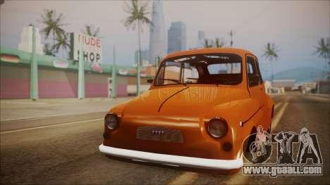 Fiat 600 for GTA San Andreas