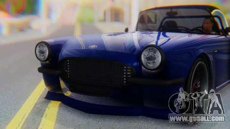 Invetero Coquette BlackFin v2 GTA 5 Plate for GTA San Andreas side view
