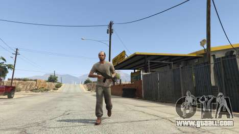 GTA 5 BF4 AR160 second screenshot