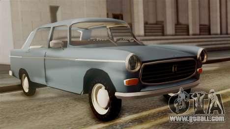 Peugeot 404 for GTA San Andreas