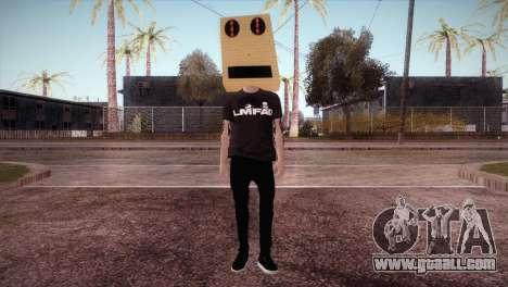 LMFAO Robot for GTA San Andreas second screenshot