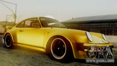 Porsche 911 Turbo (930) 1985 Kit C PJ for GTA San Andreas back left view
