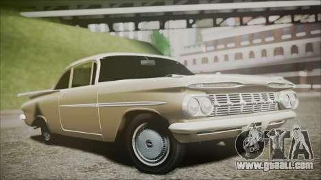 Chevrolet Impala 1959 for GTA San Andreas