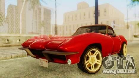 Chevrolet Corvette Sting Ray 427 SA Style for GTA San Andreas