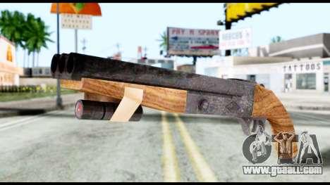 Shotgun from Resident Evil 6 for GTA San Andreas