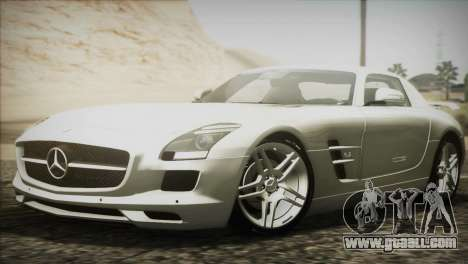Mercedes-Benz SLS AMG 2013 for GTA San Andreas