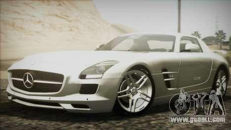 Mercedes-Benz SLS AMG 2013 for GTA San Andreas