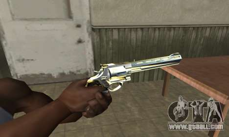 Revolver for GTA San Andreas second screenshot