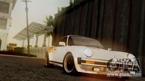 Porsche 911 Turbo (930) 1985 Kit C PJ for GTA San Andreas engine