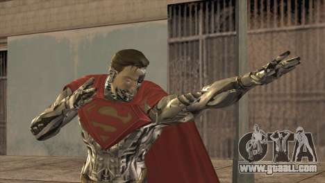Superman Cyborg v2 for GTA San Andreas
