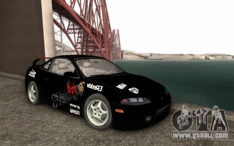 Mitsubishi Eclipse GSX NFS Prostreet for GTA San Andreas back left view