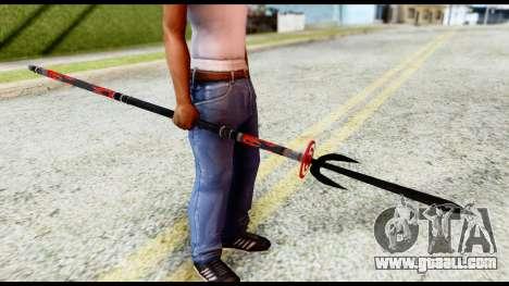 Yukimura Spear for GTA San Andreas second screenshot