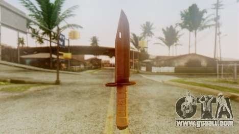 Combat Knife for GTA San Andreas second screenshot