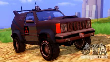 Sandking Mitsubishi Cup for GTA San Andreas